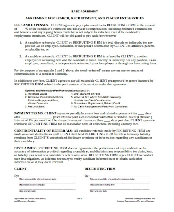 Sample Independent Agreement Contract - 8+ Examples in Word, PDF