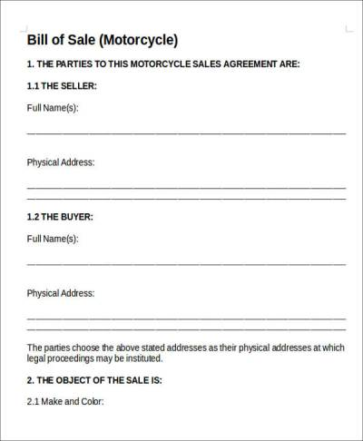 11+ Vehicle Sales Agreement Samples - Free Word, PDF Format Download