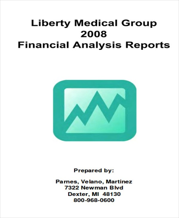 Sample Financial Analysis Report Financial Analysis Report Template - analysis report format