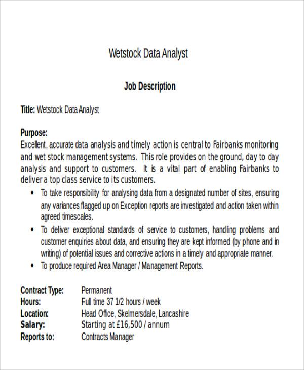 Stock Worker Description Resume ~ Stock Job Description - Stock Job Description