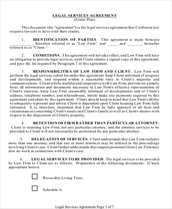 9+ Sample Contract Service Agreements Sample Templates