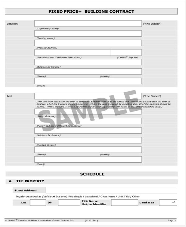 9+ Simple Contract Agreements Sample Templates