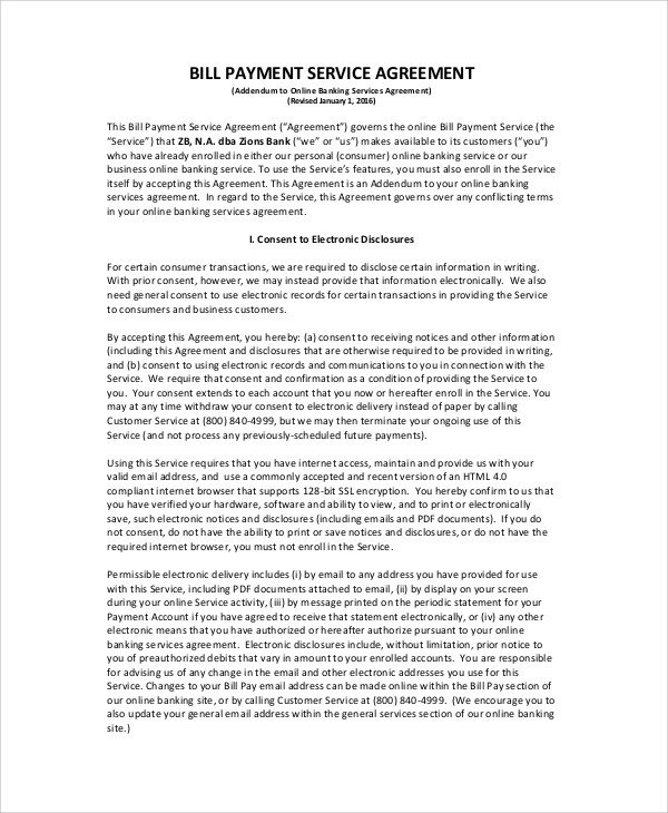 Payment Agreement Contract Sample - 17+ Examples in Word, PDF