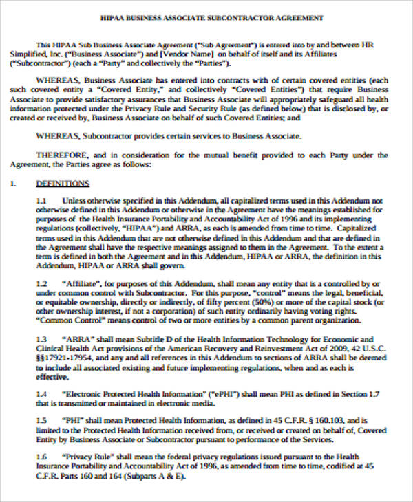 Sample Subcontractor Agreement Sample Noncompete Agreement Form - sample subcontractor agreement