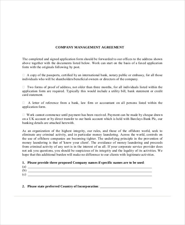 8+ Sample Business Management Agreements Sample Templates - professional athlete contract template