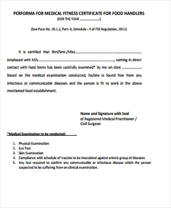 Free Medical Certificate 19 free doctor note template – Sample Medical Certificates