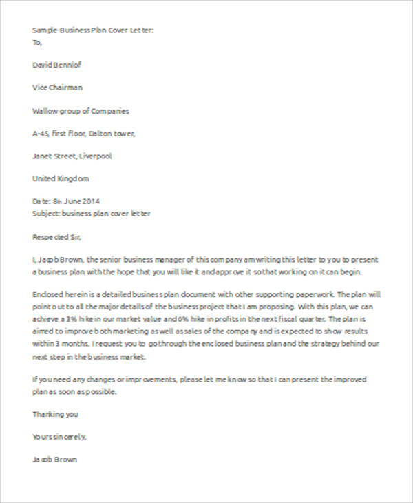 a well written cover letters
