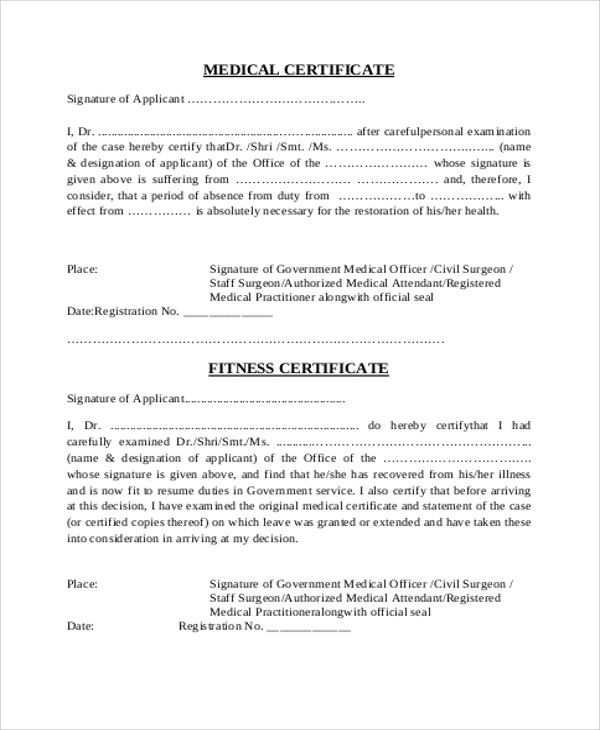 medical certificate issued by doctor xv-gimnazija