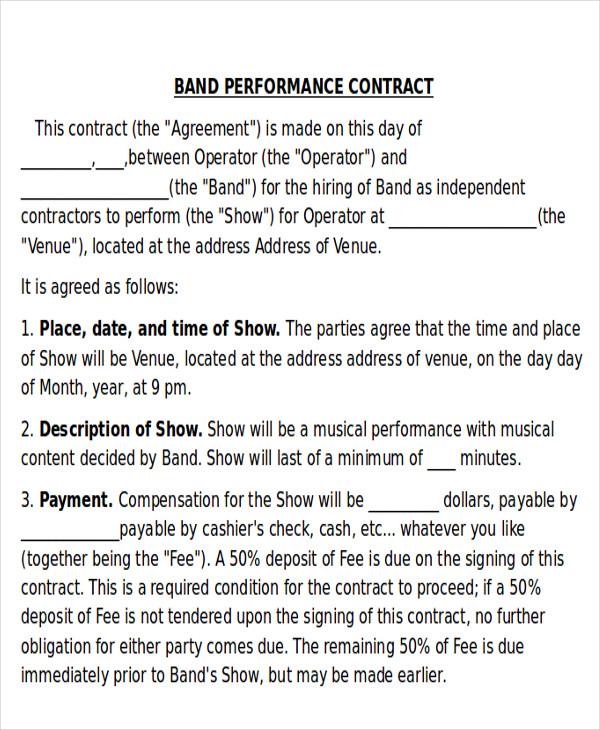 band contract - Tikirreitschule-pegasus