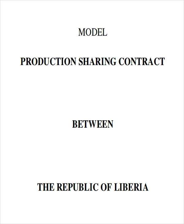 production contract template - 28 images - sle production contract - production contract agreement