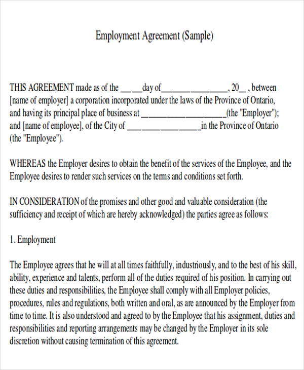 Salon Employee Agreement Beauty Salon Contract Agreement Nevadasalon