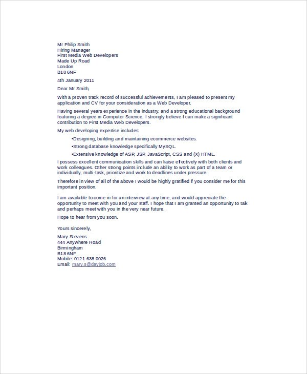 ... Quantitative Analyst Cover Letter Sample Livecareer Quant   Quant Cover  Letter ...