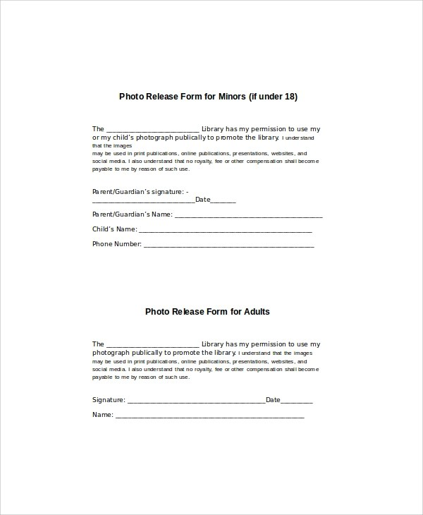 parental release form spintel - hipaa compliant release form
