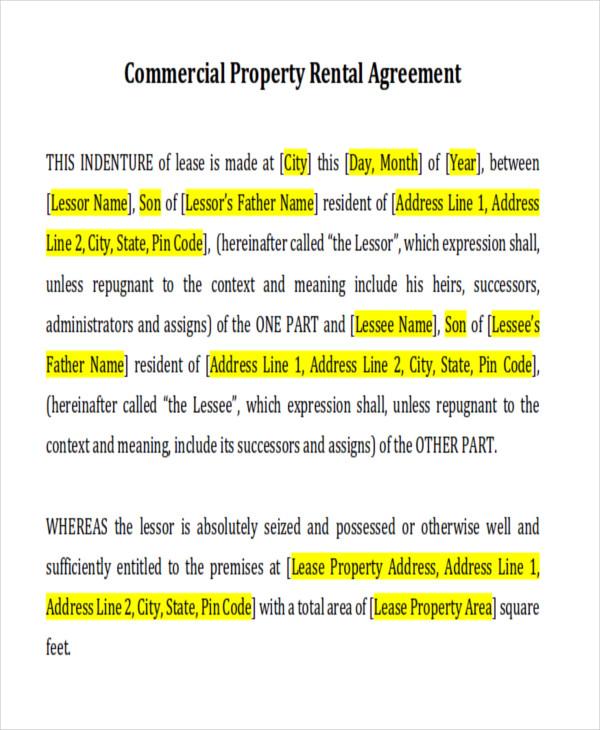 9+ Sample Short-Term Rental Agreements Sample Templates - short term rental agreement