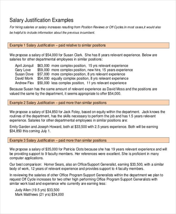 salary raise letters