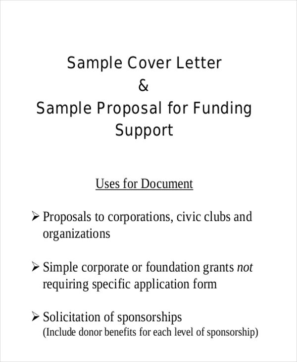 ... Sample Sponsorship Proposal   Happycart   Proposal Letter For  Sponsorship Sample For Event ...