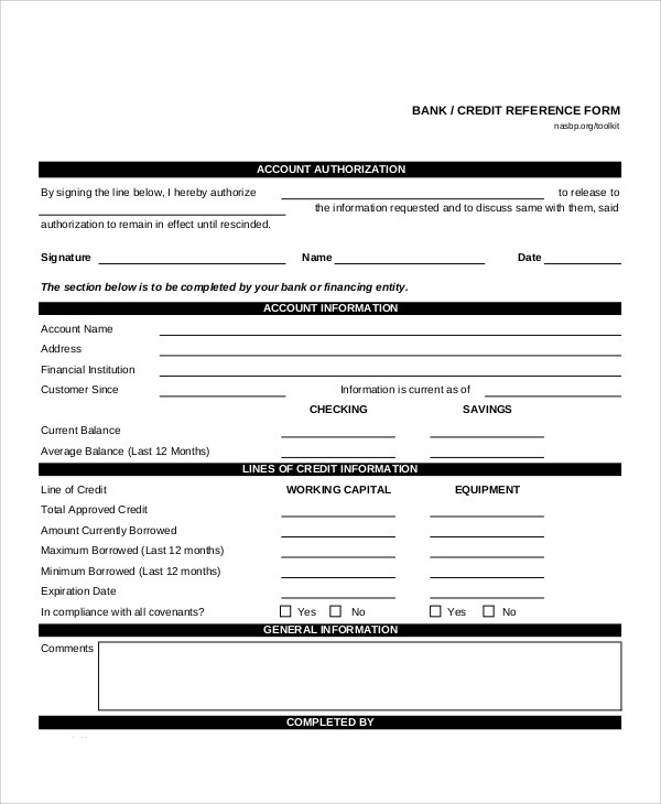 9+ Sample Bank Release Forms Sample Templates - reference release form