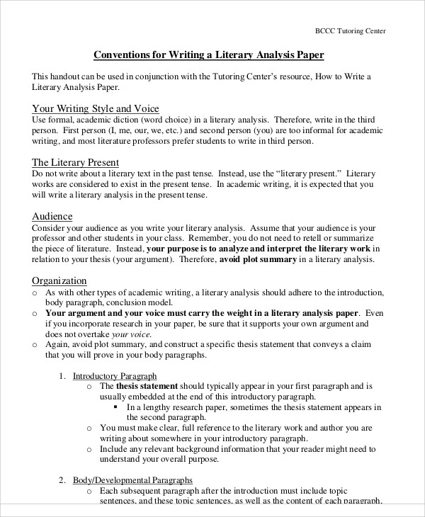 Help in writing a research paper literary analysis 2018 - Customwritings