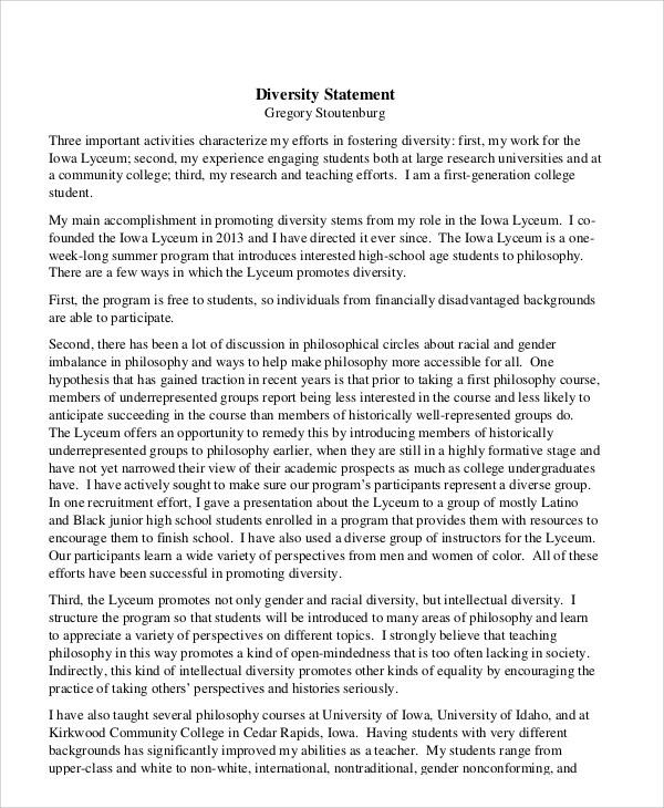 Diversity Statement  NodeCvresumePaasproviderCom