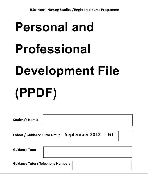 10+ Professional Development Plan Samples Sample Templates