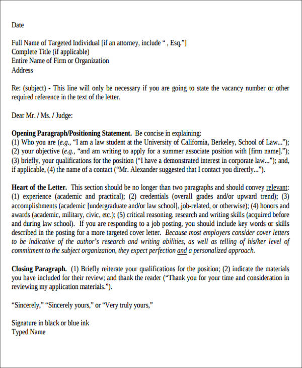 6+ Enclosure Cover Letter Sample Templates - example of cover letter
