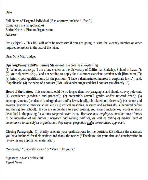 6+ Enclosure Cover Letter Sample Templates