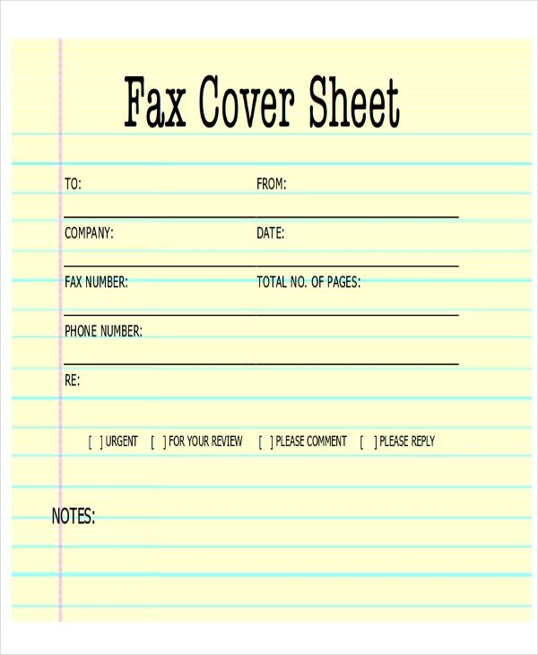 Fax Cover Sheet Pdf 10+ Confidential Fax Cover Sheets Resume - fax sheet example
