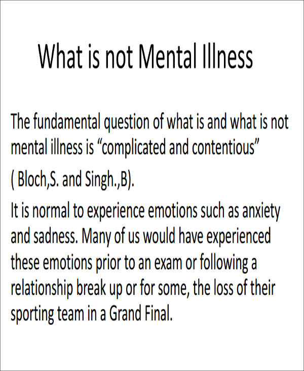 Sample Mental Health Assessment - 8+ Examples in Word, PDF - sample health assessment