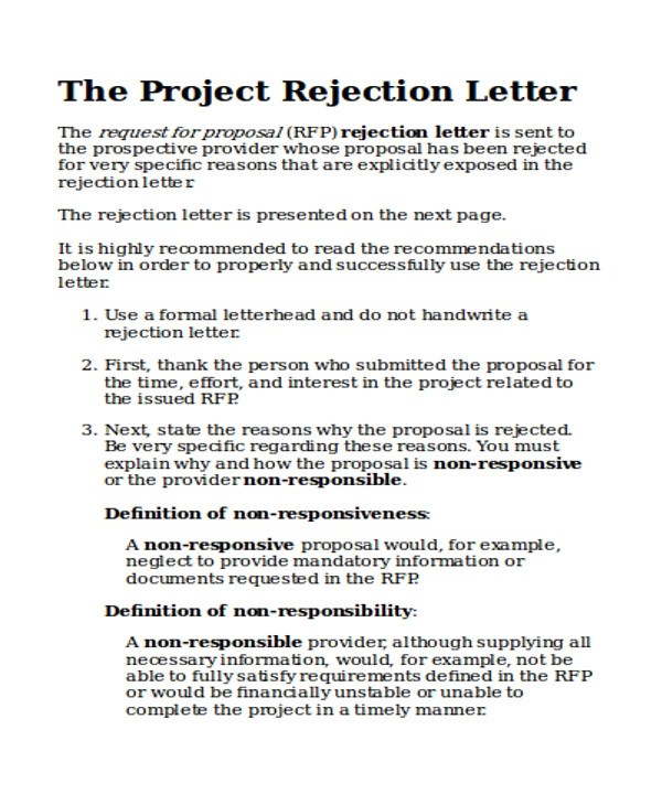 Example Of A Formal Proposal Letter Image collections - simple
