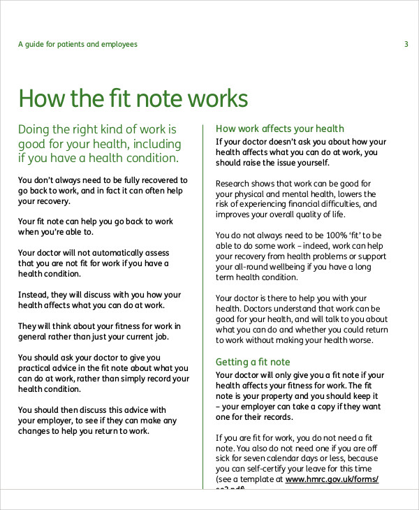 4 from sick note mental health doctors note progress note template