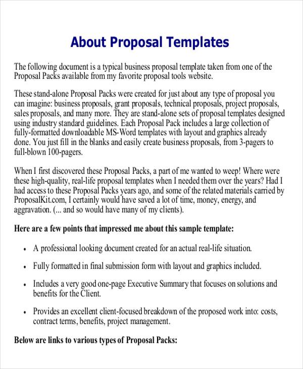 Doc#585600 Management Summary Template u2013 31 Executive Summary - contract summary template