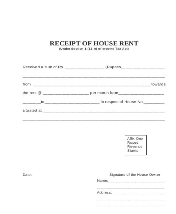 Sample Rental Invoice - 8+ Examples in PDF, Word, Excel