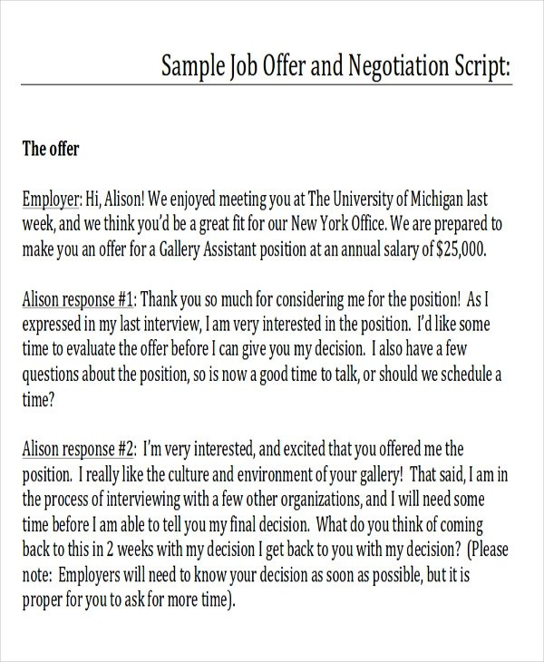 Sample Counter Proposal Letter - 6+ Examples in PDF, Word