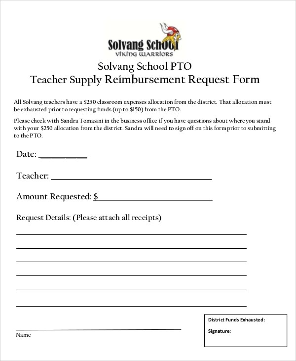 10+ Sample Supply Request Forms Sample Templates - request form