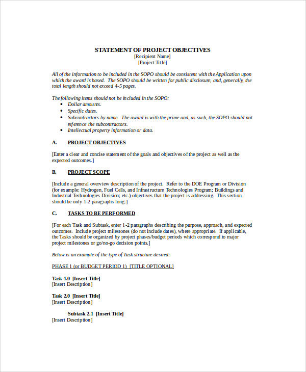 sample resume career objective statement