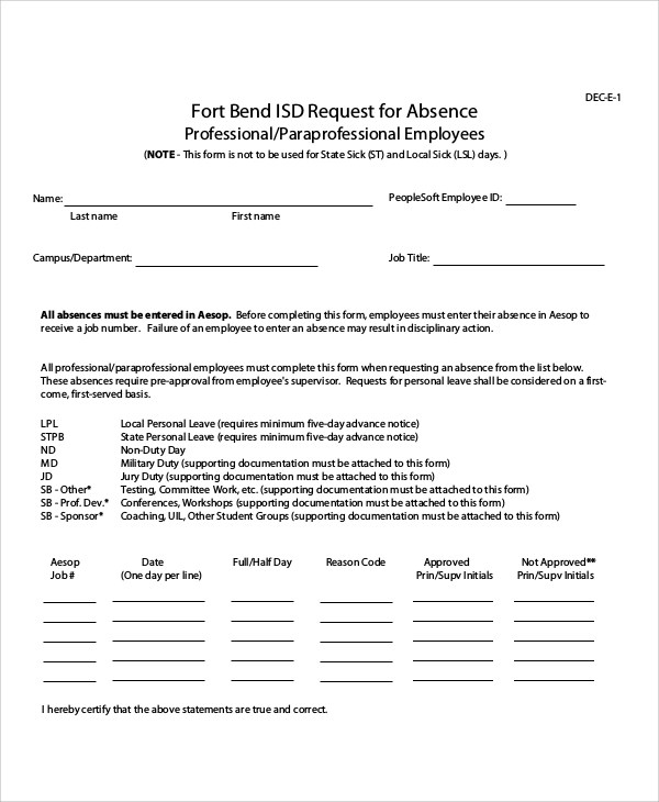 50+ Sample Request Forms Sample Templates