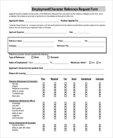 ... Employment Request Form Sample Time Off Request Form   23+   Employment  Verification Request Form ...