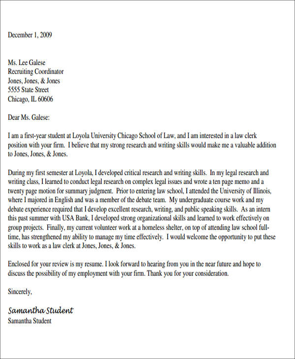 cover letter for law students - Alannoscrapleftbehind - cover letter student