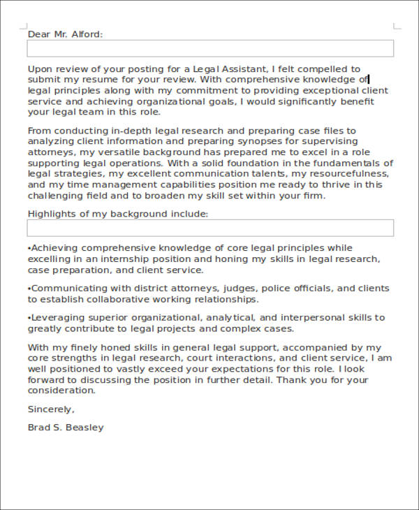 Assistant District Attorney Cover Letter - sarahepps - - assistant district attorney sample resume