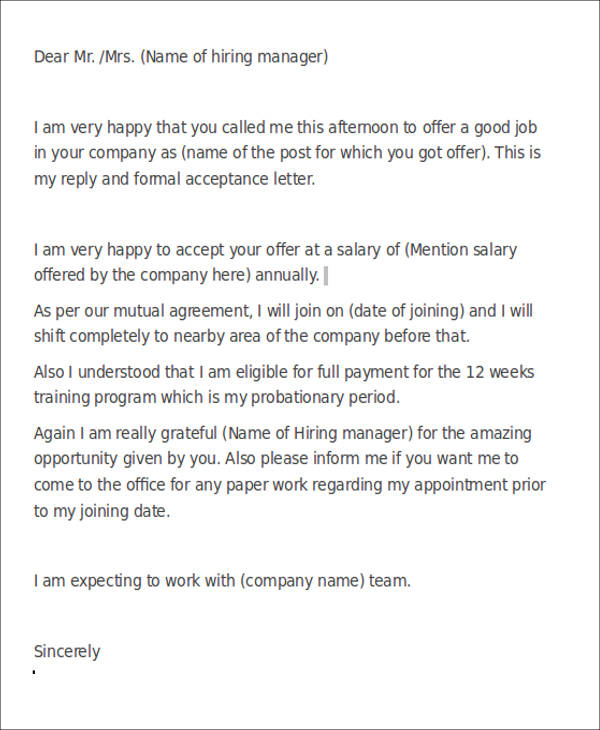 7+ Sample Recruiter Thank-You Letters Sample Templates - thank you letter to recruiter