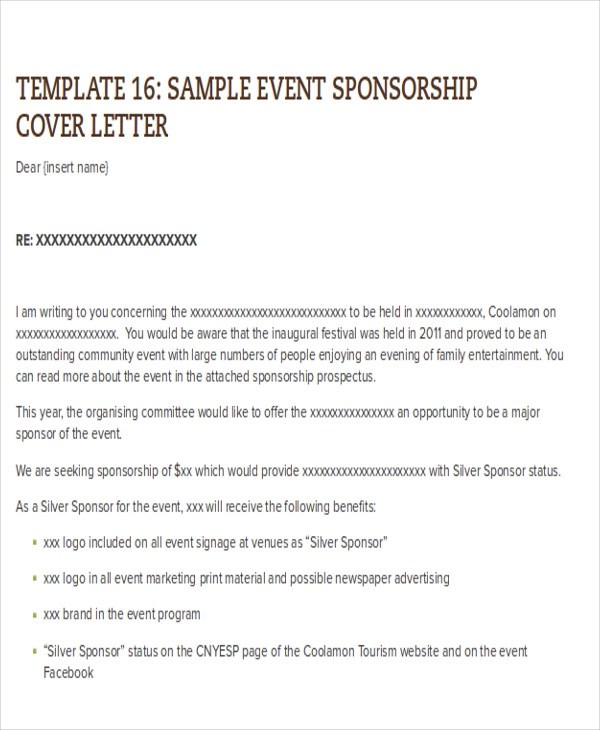8+ Sample Catering Proposal Letters \u2013 PDF, DOC Sample Templates
