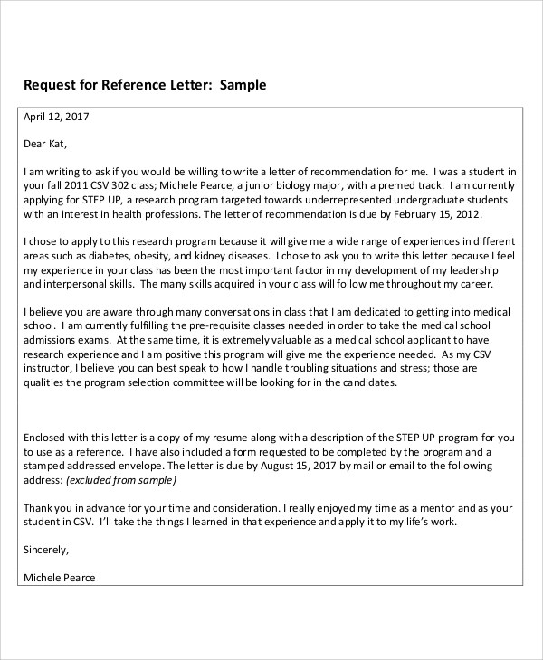 8+ Sample Reference Thank-You Letters Sample Templates - Thank You Letter For Reference