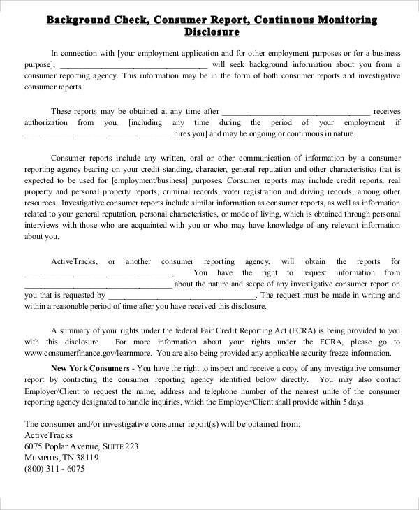 Background Report Sample - 8+ Examples in Word, PDF