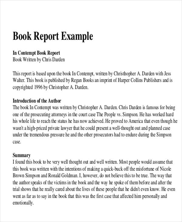 report book example - Onwebioinnovate