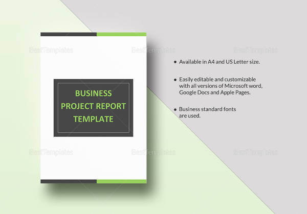 26+ Project Report Templates Download - Docs, Word, Pages