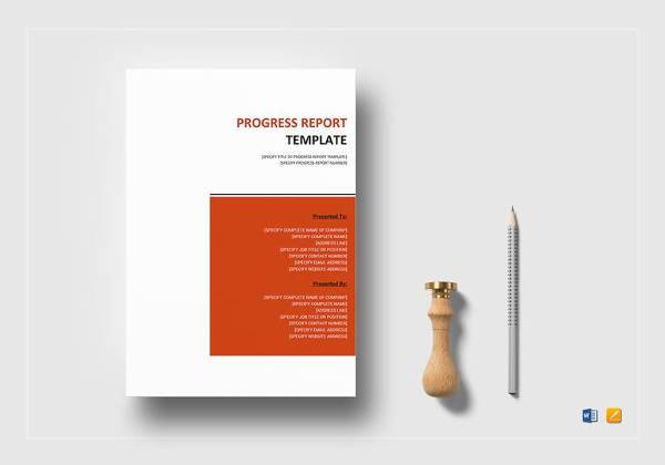 9+ Sample Job Progress Reports Sample Templates - job progress report