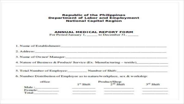 8+ Sample Medical Reports - PDF, Word