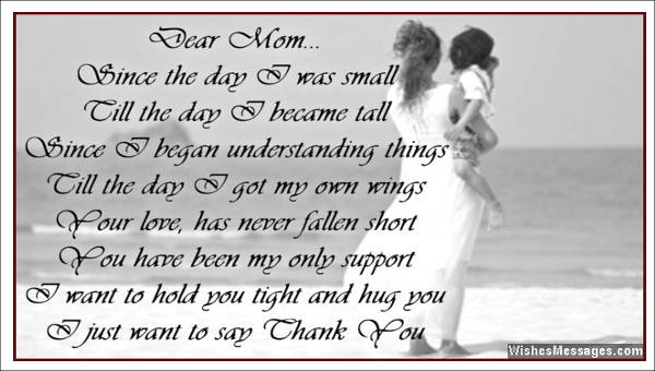 Sample Thank You Letter to Mom - 5+ Examples in Word, PDF