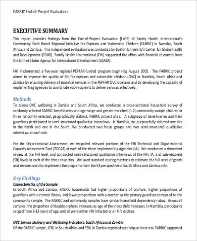 40+ Sample Reports in PDF Sample Templates
