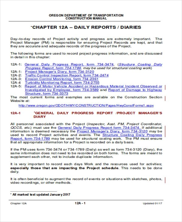 Sample Resume Daily Accomplishment Report Template | Examples Of